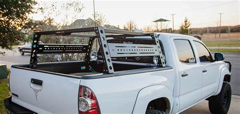 bed rack tacoma toyota tacoma bed rack fits years 2005 2017 kb voodoo