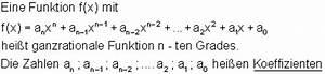 Nullstellen Berechnen Ganzrationale Funktionen : zusammenfassung ganzrationale funktionen mathe brinkmann ~ Themetempest.com Abrechnung