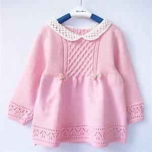 Children's clothing yarn cutout handmade baby sweater one ...