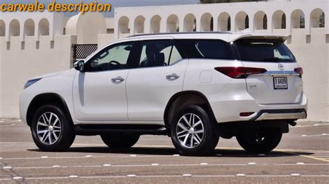 toyota fortuner facelift  toyota cars review