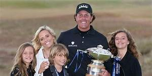 Phil Mickelson and his wife Amy Mickelson happily married ...