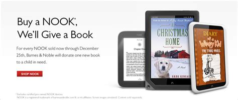 Nook Holiday Book Drive