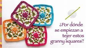Granny Square Invertido Tejido A Crochet