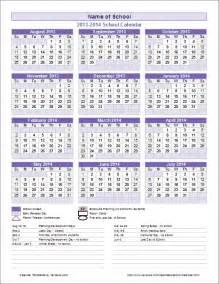 School Year Calendar 2015 2016