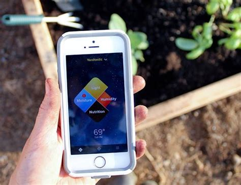 Garden Sensor by Edyn Wi Fi Garden Sensor 187 Gadget Flow