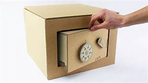 Fabriquer Un Personnage En Carton : coffre fort en carton ~ Zukunftsfamilie.com Idées de Décoration