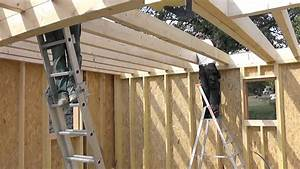 Maison En Bois Construction : les tapes de construction d 39 une maison en bois youtube ~ Melissatoandfro.com Idées de Décoration