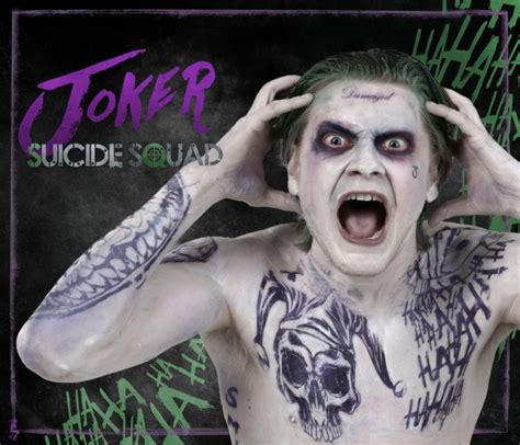 diy jared leto joker  suicide squad cosplay
