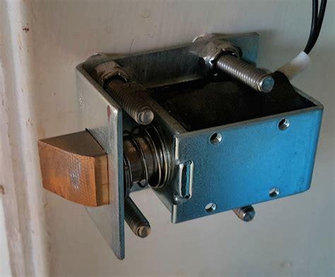 Electronic Solenoid Door Lock