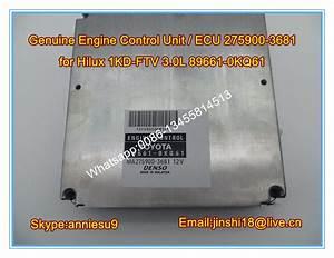 Denso Original Engine Control Unit   Ecu 275900