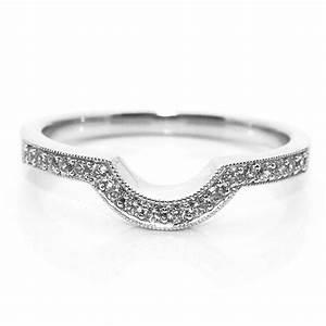 fitting inspiration for shaped wedding rings With horseshoe shaped wedding rings