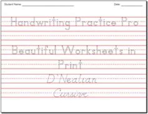 handwriting practice sheets images handwriting