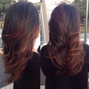 Ombré Hair Auburn : auburn balayage glorious hairrrr hair ~ Dode.kayakingforconservation.com Idées de Décoration
