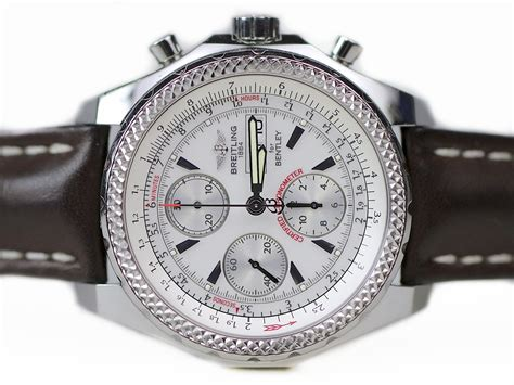 bentley breitling clock breitling watch breitling for bentley gt a13362 used