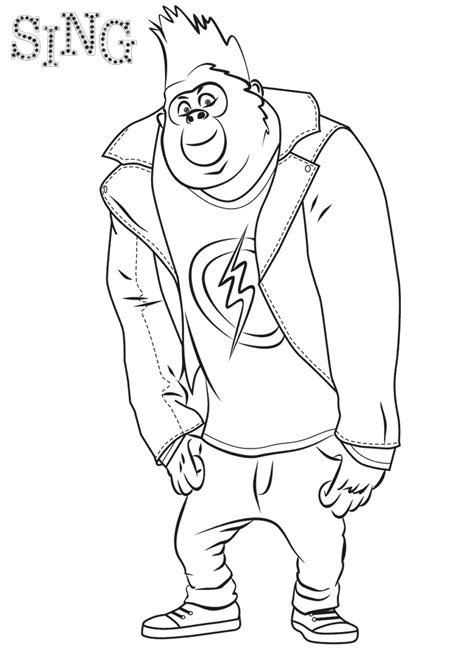 color pages sing coloring pages best coloring pages for