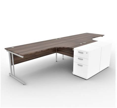 Solar Desk by Desk And Pedestal Package Solar Office Reality