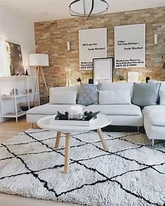 Teppich Unter Sofa : 1000 best wohnzimmer images on pinterest ~ Frokenaadalensverden.com Haus und Dekorationen