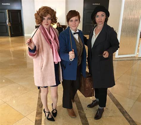 leakycon  harry potter cosplays popsugar