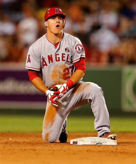 Boston Red Sox Images Wallpaper Mike Trout Photos Photos Los Angeles Angels Of Anaheim V Boston Red Sox Zimbio