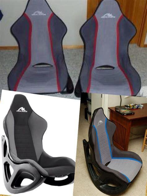 ak designs ak 100 rocker gaming chair gray black skin