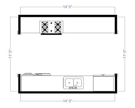 galley kitchen floor plans small galley style kitchen floor plans galley kitchen floor 6777