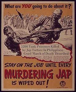 Anti-Japanese WW2 Propaganda Poster | Propaganda ...