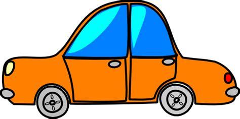 cartoon car car orange cartoon clip art at clker com vector clip art