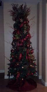 decorated skinny christmas trees google search
