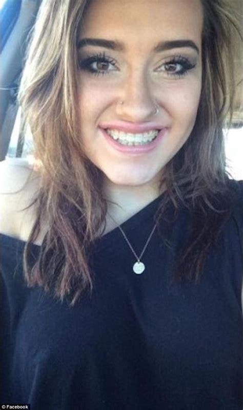 Montana High School Student Kaitlyn Juvik Stages Bra Less