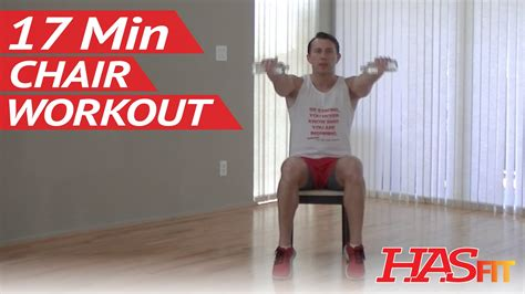 17 min chair exercises for seniors beginners hasfit