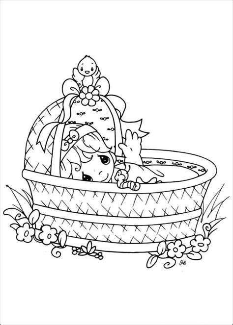 coloring pages precious moments printable  kids adults