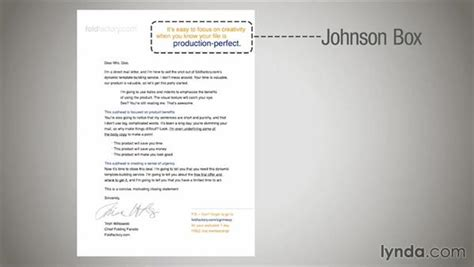 direct mail letter