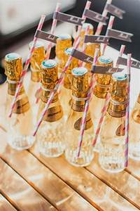 15 budget friendly diy wedding favors tulle chantilly With champagne bottle favors for weddings
