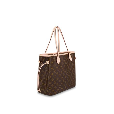 neverfmm nm mng beige monogram handbags louis vuitton
