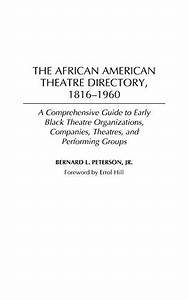 Reference - African American Drama