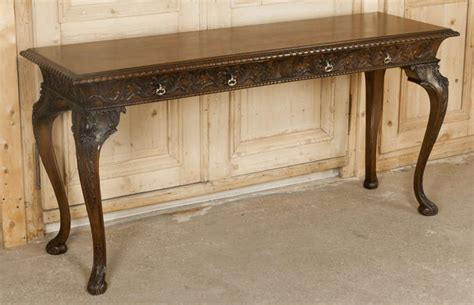 vintage console tables for antique sofa tables antique console table foyer awesome 8826