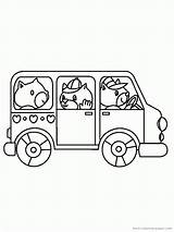 Bus Coloring Cartoon Buses Pages Library Clipart Categories Similar Baby Clip Popular Printable sketch template