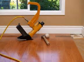 how to install hardwood floors nail