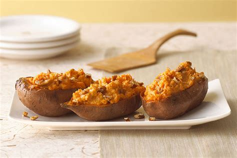 baked sweet potato recipe twice baked sweet potatoes