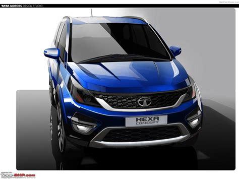 Tata Hexa Auto Expo 2018 Page 39 Team Bhp