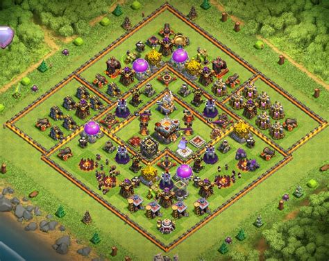 3 th10 layouts with 2 th10 th11 base layouts clash of clans coc 360 3 th