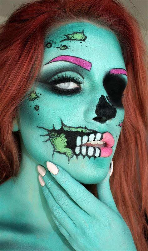 makeup halloween creative zombie favbulous
