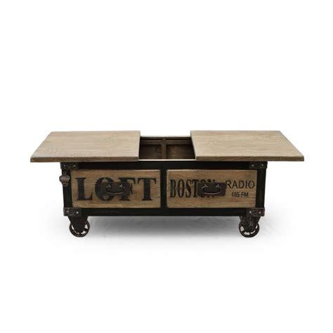 magasin de canapé d angle table basse bar york industriel
