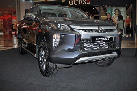 mitsubishi triton malaysia truck motors pick premium rm100k launches prices start