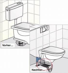 Wc Vorwandelement Verkleiden : wc austauschen toilette einbauen so geht 39 s ~ Michelbontemps.com Haus und Dekorationen