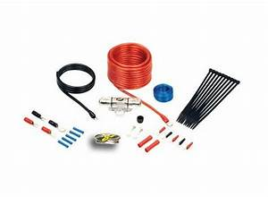 Stinger 8 Awg Gauge 600 Watt Amp Wire Power Ground Kit Red