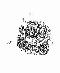 2010 Dodge Grand Caravan Engine  Long Block