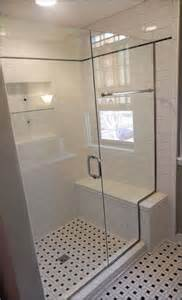 Small Bathroom Shower with Bench
