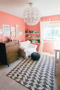 2015 paint trends decorating with coral With what kind of paint to use on kitchen cabinets for wall art for little girl room
