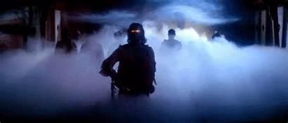 Fog Blake Thing Chest Scene Carpenter Horror